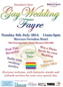 Gay Wedding Fayre Poster 2014 A5-1