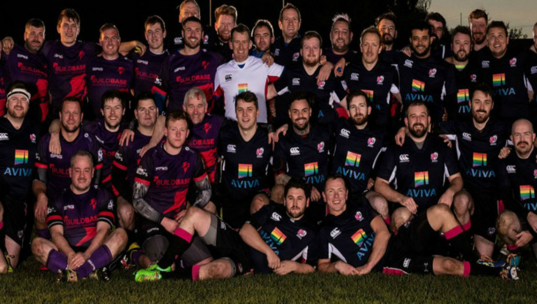 Bristol Bisons Get Rainbow Surprise From Aviva & Stonewall