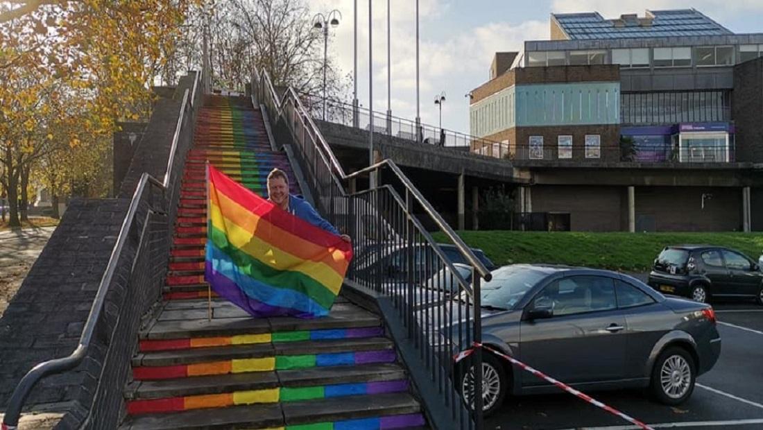 Swindon's Rainbow Walk Revealed