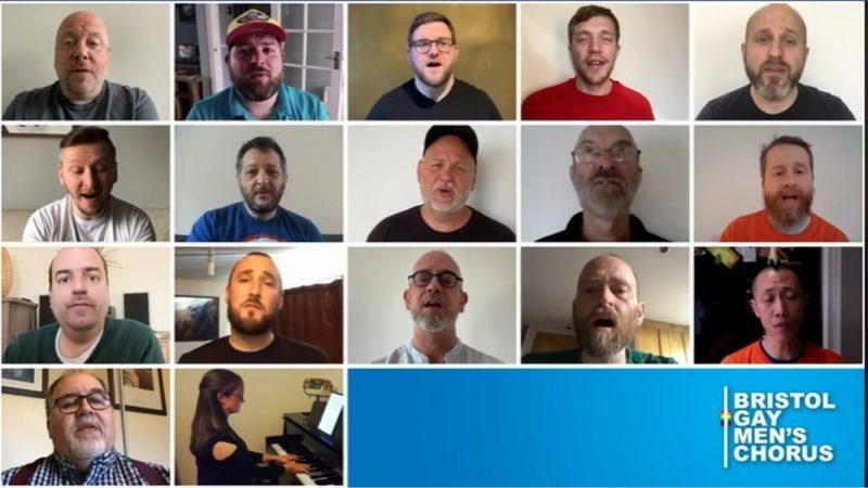 Bristol Gay Men's Chorus Debuts Online