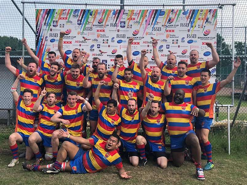 Gay rugby lads start countdown to welcoming 60 teams to their city