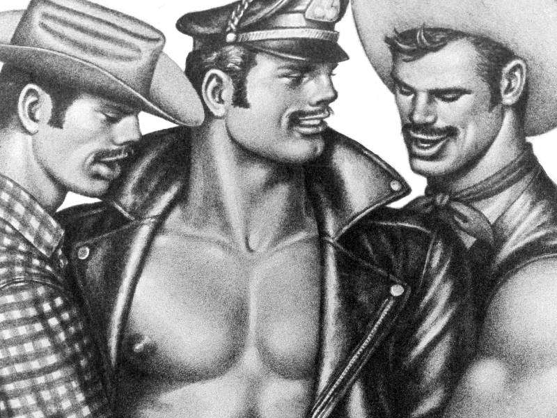 100 years of Tom of Finland and his stunning, sexy men