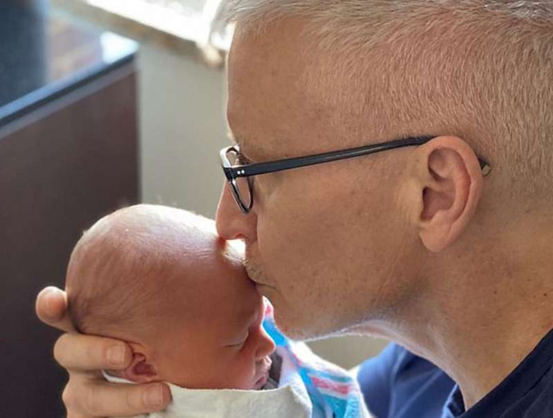 'Blissfully happy' new dad Anderson Cooper says being gay is a 'great blessing'