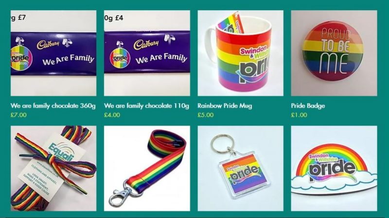 Swindon & Wiltshire Pride Shop Opened
