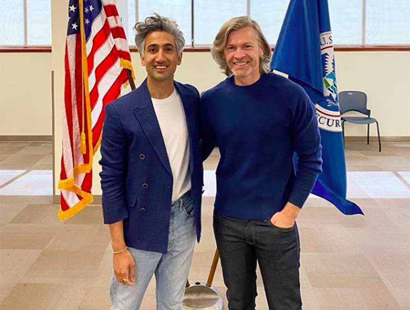 British Queer Eye star Tan France becomes a US citizen and pledges to vote