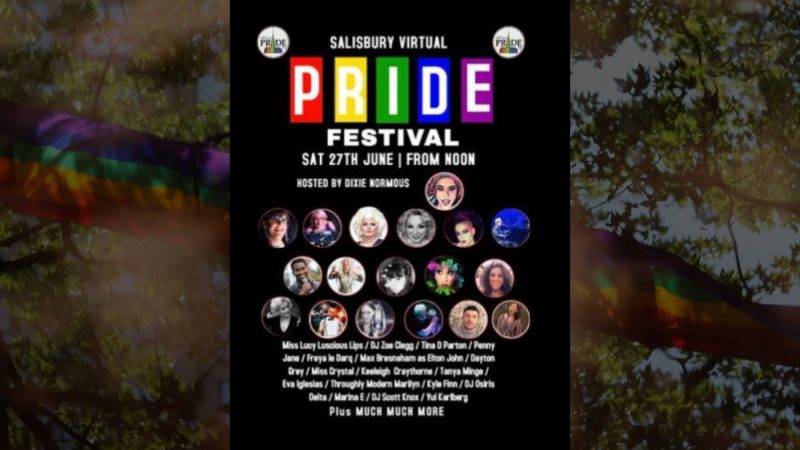 Salisbury Pride Goes Virtual