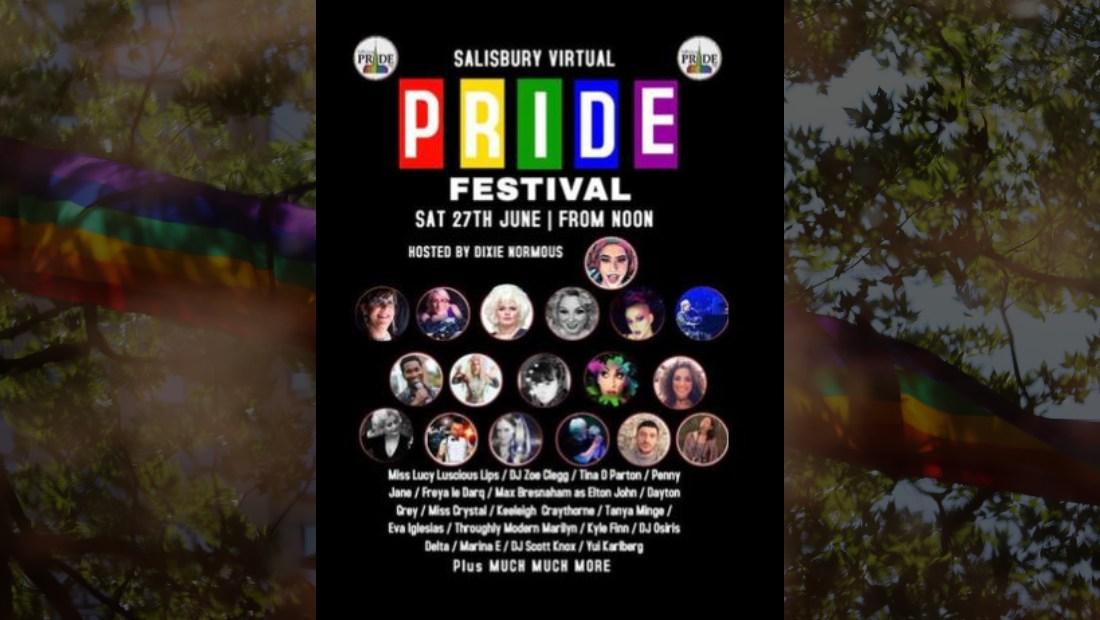 Salisbury Pride Goes Virtual
