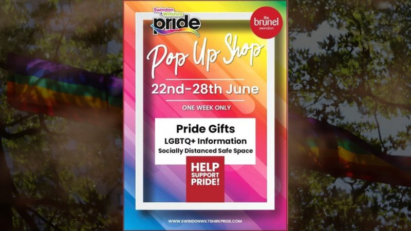 Swindon & Wiltshire Pride Pops Up Again