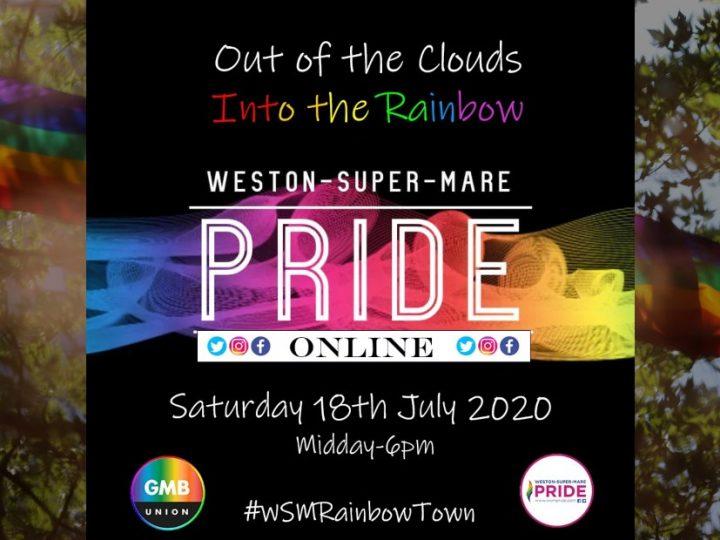 Weston Super Mare Goes Into The Rainbow