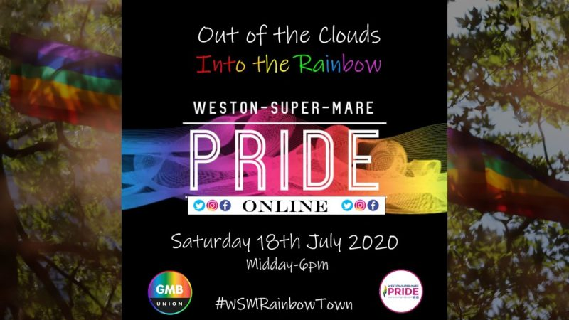 Weston Super Mare Goes Into The Rainbow