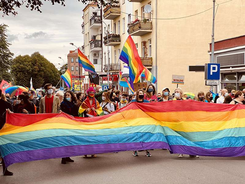 Pride marches from Poland to Germany in show of LGBT+ solidarity