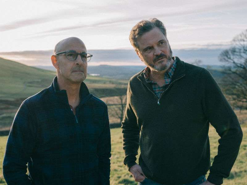 Colin Firth and Stanley Tucci star as gay couple in first trailer for Supernova