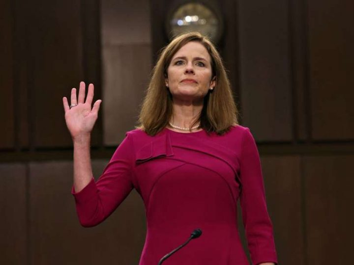 Amy Coney Barrett confirmed to US Supreme Court