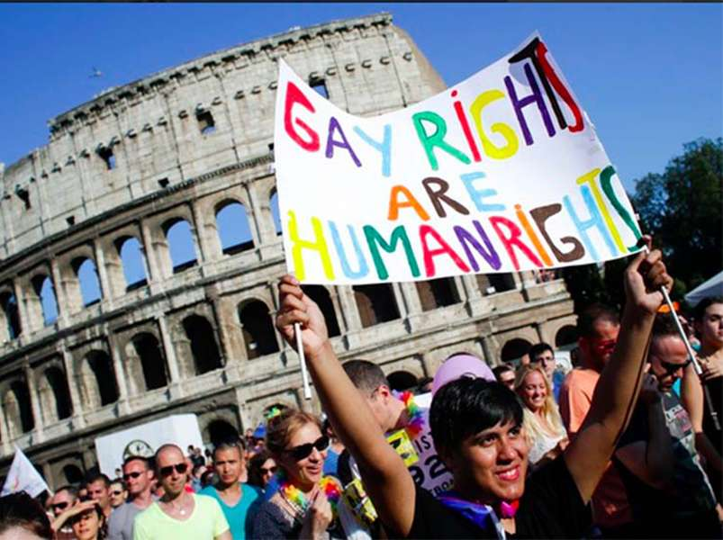 LGBT+ activists are battling the Catholic Church to finally pass a hate crime law in Italy