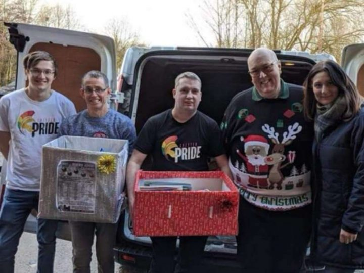 This Pride is helping to make sure families won't go hungry this Christmas