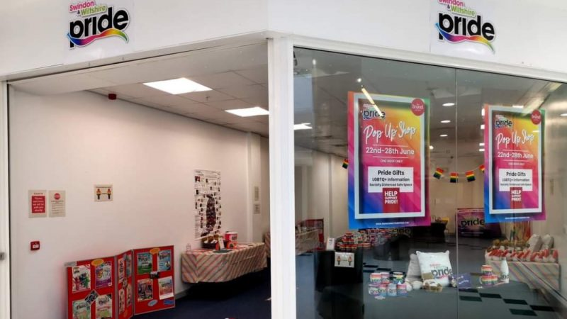 Pride Pop-Up Shop Returns To Swindon For Christmas