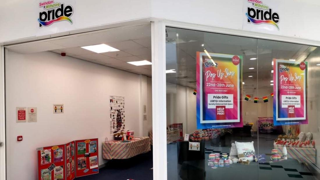Pride Pop-Up Shop Returns To Swindon For Christmas