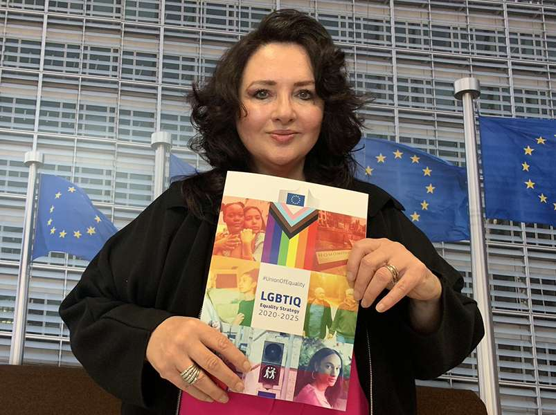EU pledges to fight LGBT+ discrimination and lead the call for global equality
