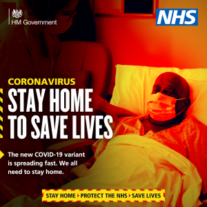 Coronavirus - Stay Home to Save Lives