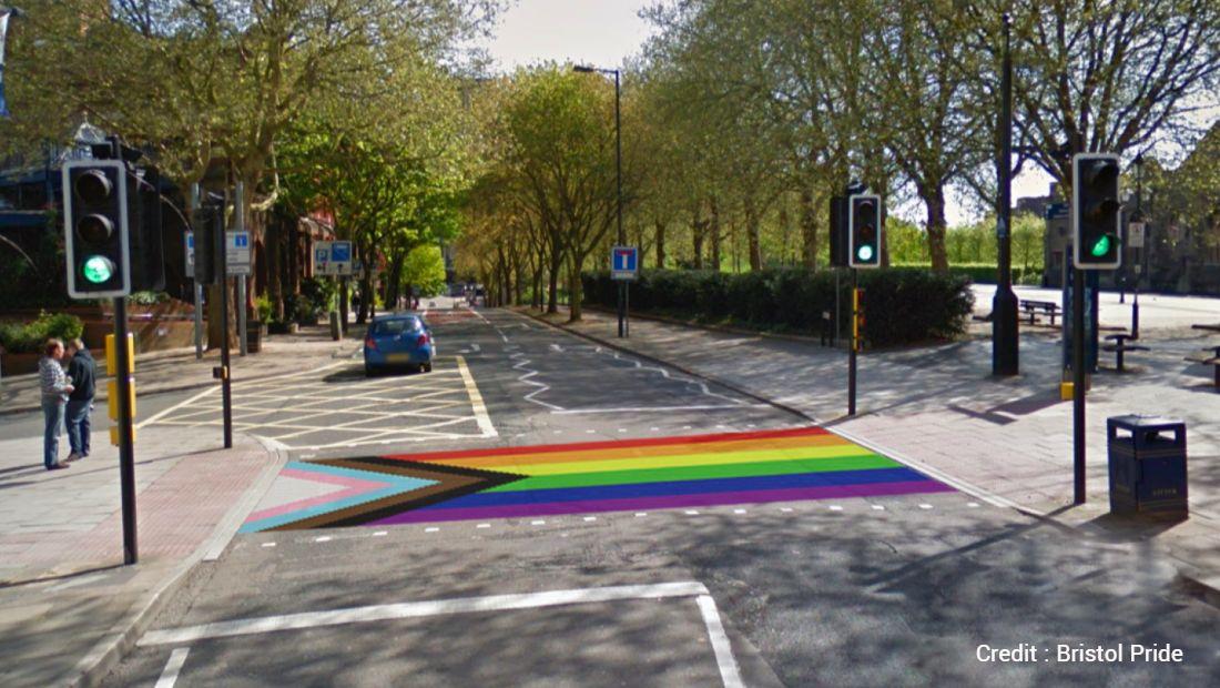 Rainbow Crossing Comes To Bristol