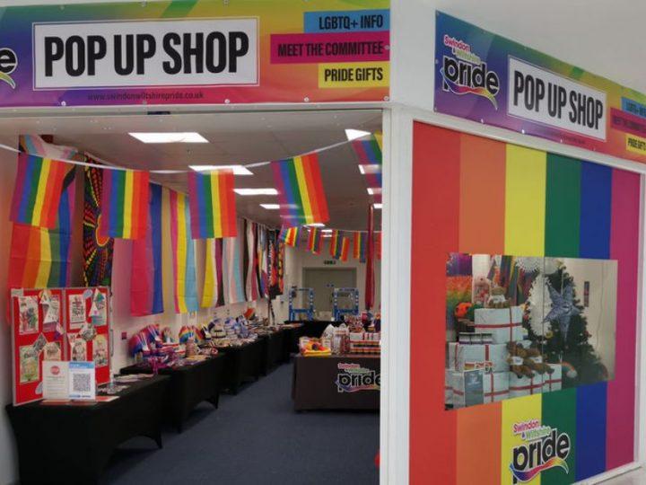 Wiltshire's Pride Pop Up Shop Goes On Tour